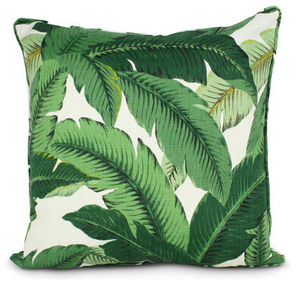 Tropical Decorative Pillows by Furbish Studio