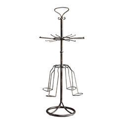 Cyan Design - Winston Wine Rack - Winston wine rack - raw steel