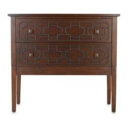 Otto International Usa Llc - Bombay Henley Fretwork Storage Table - The Bombay Henley fretwork storage table is the perfect storage unit to add handsome style and functionality to your home.