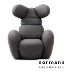 Normann Copenhagen Bunny Chair Gray - Normann Copenhagen Bunny Chair Gray
