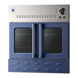 "BlueStar 36"" Single Wall Oven- Gas Oven - Cobalt Blue (RAL 5013)"