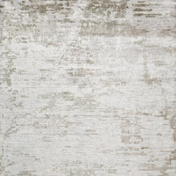 Surya - Surya Silence SIL-7001 (Ash Gray, Gray) 4' x 6' Rug - This Hand Loomed rug would make a great addition to any room in the house. The plush feel and durability of this rug will make it a must for your home. Free Shipping - Quick Delivery - Satisfaction Guaranteed