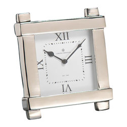 Zodax - Zodax Chrono Meridian Table Clock - Zodax - Table & Desk Clocks - BAR448 - Chrono Meridian Table Clock