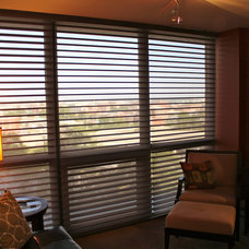 Modern Roller Shades by Skyline Window Coverings & Design