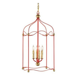 Carousel Lantern by Currey and Company -
