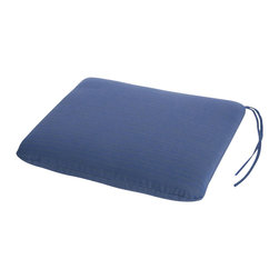 Phat Tommy - Sunbrella Chair Pad in Galaxy - As a general use cushion, it will go well with many different kinds of chairs. You can expect years of carefree use with quality construction.