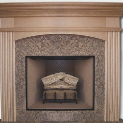 Wood Fireplace Mantel - Search our wide selection of wood mantels if you want choices.