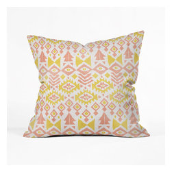 Pastel Geometric Pillow Cover - Make your contemporary studio that much more stylish by adding one of these patterned pillows into the mix. It's multi-purpose: rest your head, grab a seat, or, of course, use in a pillow fight.