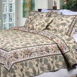 Florence Quilt Set and Optional Sham Separates -