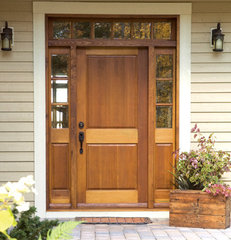 traditional entry lemieux front door