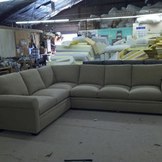 Eclectic Sectional Sofas by Monarch Sofas