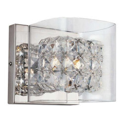 Trans Globe Lighting - Trans Globe Lighting MDN-1115 Wall Sconce In Polished Chrome - Part Number: MDN-1115