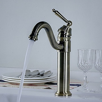 Modern Bathroom Sink Faucets by faucetsuperdeal