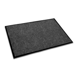 Floortex Ecotex Rib Entrance Mat - At the ready for all the messy feet in your life, the Floortex Ecotex Rib Entrance Mat is a heavy-duty mat made of 30%-50% recycled PP on top of a vinyl, anti-slip backing. Available in blue, brown or charcoal, this well-constructed floor mat features a crush-resistant polyester fabric that dries quickly and resists fading.FloortexFor the last 10 years, Floortex has offered an unrivaled range and an exceptional quality of floor-saving products that provide unquestionable value. Floortex – which reduces carbon footprints by using recycled materials when manufacturing its products – has been at the forefront of innovation in the manufacturing and marketing of floor protection products. When it comes to addressing the ever-changing shape of workstations in both home and office for use of chairs, Floortex has worldwide logistical, sales and marketing support to continue to be a leader for years to come.