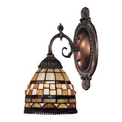 ELK Lighting - ELK Lighting 071-TB-10 Mix-N-Match 1 Light Wall Sconces in Tiffany Bronze - Mix-N-Match 1-Light Sconce in Tiffany Bronze