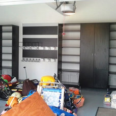 Contemporary Garage And Shed by California Closets Maryland