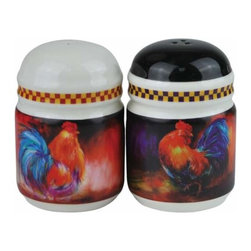WL - 3.25 Inch Barnyard Farm Theme Salt and Pepper Shakers with Rooster - This gorgeous 3.25 Inch Barnyard Farm Theme Salt and Pepper Shakers with Rooster has the finest details and highest quality you will find anywhere! 3.25 Inch Barnyard Farm Theme Salt and Pepper Shakers with Rooster is truly remarkable.