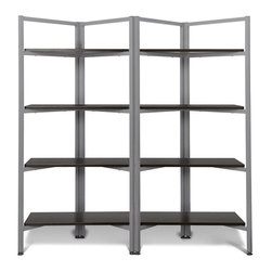 Jesper - Jesper - Tribeca Collection - Storage Bookcase W/ 5 Shelves - Espresso - Jesper Office specializes in making modular office furniture for the home and small business, along with a complementary line of modular library and home entertainment furniture. The company, originally based in Denmark, has been designing and manufacturing high quality furniture since 1935. Today, Jesper Office is based in Branchburg, New Jersey where it maintains a U.S warehouse and sales office along with several manufacturing facilities overseas.