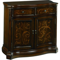 "Hammary - Hidden Treasures Chest - ""Hammary's Hidden Treasures collection is a fine assortment of unique accent pieces inspired by some of the greatest designs the world over. Each selection is rich in Old World icons and traditions."