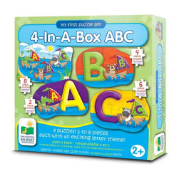 Learning Journey - Learning Journey My First Match It! 4-In-A-Box ABC - 631492 - Shop for Learning and Education from Hayneedle.com! The Learning Journey Step Ups! 4-In-A-Box ABC is a set of starter puzzles perfect for the tiny puzzler (or puzzler to be) in your life. Four alphabet-themed puzzles help develop fine motor skills.About The Learning Journey InternationalThe Learning Journey designs and manufactures the finest in children's interactive educational toys and games. Each of the company's products develops and builds on necessary skills children need for school and beyond. The company has won a number of awards cementing the Learning Journey's reputation as one of the finest designers and distributors of educational toys in the United States -- and worldwide.