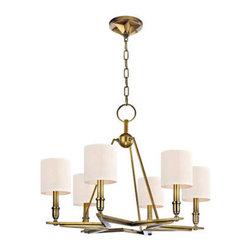 Hudson Valley Lighting - Hudson Valley Lighting 4086 Bethesda 6 Light Single Tier Chandelier - Product Features: