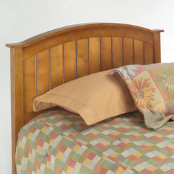 Fashion Bed Group - Finley Headboard Only in Maple Finish Finish - Twin - The Finley is a really cute kid's bed designed with a curved top rail that straightens out at the ends to give it a bit of flair. Constructed of solid hardwood, it is finished in Maple stain. The design works for both boys and girls, tweens or even grown-ups.. It's a great value with a lot of style.