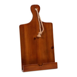 Teesdale Wooden Recipe Holder - *Great for any cook with a coastal kitchen, the Teesdale recipe holder goes great with their favorite cookbook!