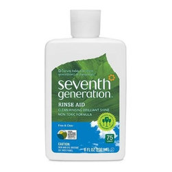 Seventh Generation Dish Rinse Aid - Free And Clear - 8 Oz - Case Of 9 - Free or Dyes & Fragrances