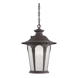 Designers Fountain - Designers Fountain ES2844 Single Light Down Lighting Energy Star Outdoor Pendant - Features: