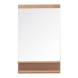 Avanity - Avanity Elle 22 in. Mirror - Avanity Elle 22 in. Mirror in Pear Wood finish
