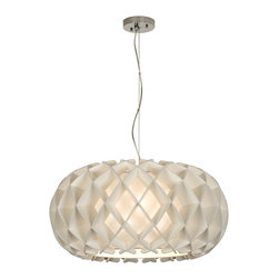 Trend Lighting - Honeycomb Large Oval Pendant - -120 Volts