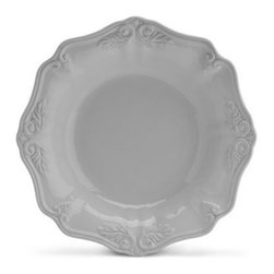 Lenox - Lenox Butler's Pantry Gourmet 10-Inch Individual Pasta Bowl - Mix and match these lovely pieces with other members of Butler's Pantry Gourmet and Butler's Pantry. Crafted of stoneware, the dinnerware pattern is distinguished by its gently scalloped edges and exquisite sculpting.