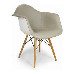 Central Park West Mid Century Arm Chair - Central Park West Mid Century Arm Chair Grey