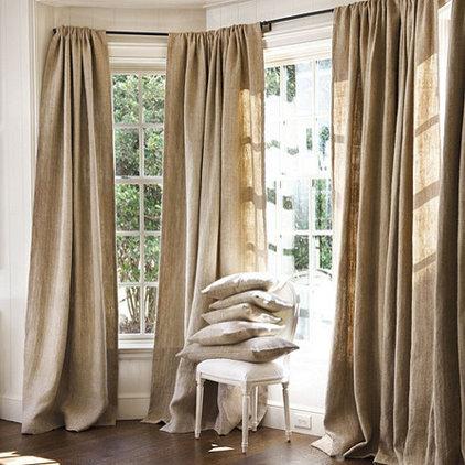 Traditional Curtains by Ballard Designs
