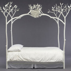 Eclectic Beds by Shawn Lovell Metalworks