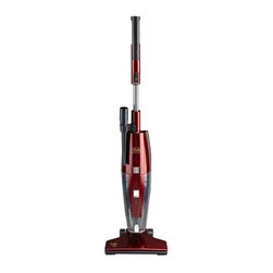 Fuller Brush Vacuums Spiffy Maid Broom Vacuum - Designed to make homes look spiffy in a jiffy the Fuller Brush Vacuums Spiffy Maid Broom Vacuum features a lightweight design with an extra-long cord for cleaning everything from carpets and hardwood floors to messy car interiors. Its telescopic handle and slider let you customize suction to the mess at hand while its bagless large-capacity bin keeps post-vacuuming cleanup simple and easy. This high-powered vacuum comes with an onboard crevice tool and HEPA filter and is backed by a one-year manufacturer's warranty About TaconyBased in St. Louis Missouri Tacony was founded in 1946 by Nick Tacony as a small business selling sewing machines from his basement. Today the family-owned and -operated company employs over 650 people worldwide who are faithfully fulfilling its tradition of integrity excellence and quality in a wide variety of household categories. Tacony's many brands are dedicated to providing the highest-quality products in sewing home floor care commercial floor care and ceiling fans and lighting and they include such household names as the Fuller Brush Company Regency ceiling fans Nancy's Notions and more. Recognized and awarded for its commitment to American-made products Tacony manufactures vacuum cleaners and commercial cleaning products in facilities in Texas Missouri and Illinois.