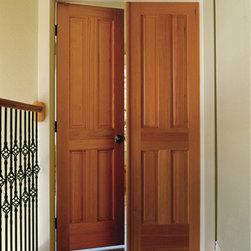 Wood Doors - 4 Panel Pine Doors by HomeStory Doors