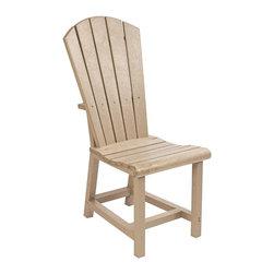 C.R. Plastic Products - C.R. Plastics Addy Dining Side Chair In Beige - C.R. Plastics Addy Dining Side Chair In Beige