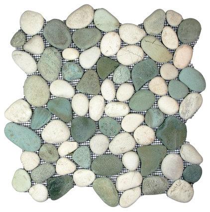 Contemporary Tile by Pebble Tile Shop