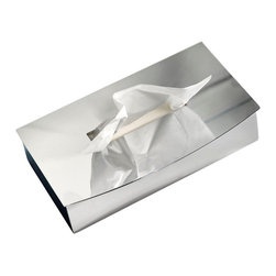WS Bath Collections - WS Bath Collections Kubic Class Tissue Box - Features: