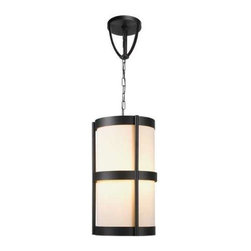 World Imports - World Imports Edmonton 4-Light Pendant With Shade, Euro Bronze (1433-29) - World Imports 1433-29 Edmonton 4 Light Pendant With Shade, Euro Bronze