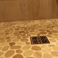 Transitional Tile by Cabinet-S-Top