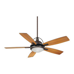"Karyl Pierce Paxton - Karyl Pierce Paxton 54-220-5RV-13 Shasta 54"" Transitional Ceiling Fan - Ceiling Fan crafted of sleek contemporary styling."