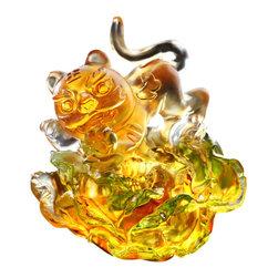 LiuliGongfang - LiuliGongfang Crystal Laughing Tiger In Bloom - LiuliGongFang