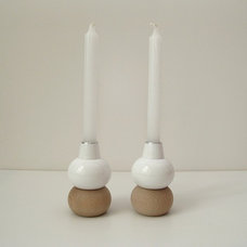 Contemporary Candleholders by Vitrine