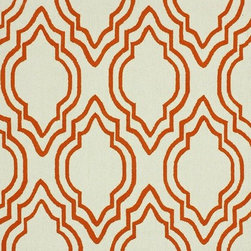 Nu Loom - Contemporary Grace 5'x8' Rectangle Orange Area Rug - The Grace area rug Collection offers an affordable assortment of Contemporary stylings. Grace features a blend of natural Orange color. Hand Hooked of 100% Wool the Grace Collection is an intriguing compliment to any decor.