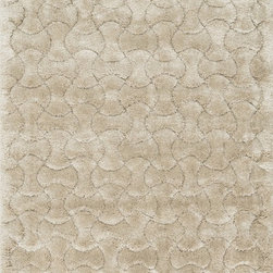 "Loloi Rugs - Loloi Rugs Dream Shag Collection - Beige, 5'-2"" x 7'-7"" - Quite possibly one of the thickest shags available, Dream Shag is designed to add supreme comfort to the look and feel of any home. The pile consists of thick twisted polypropylene yarns that measure 1.5 inches in length and are densely packed. The result is a shag that's plush, thick, and comfortable. And since it's made in Egypt using power looms, any Dream Shag you order is made with precise design and pile height accuracy."