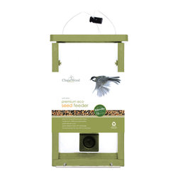 PineBush - Premium Eco Friendly Seed Feeder - Features: