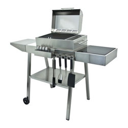 Kenyon Custom - Grill Cart - Specifically designed for Kenyon portable grills(model B70082 & B70090). Easily transport your All Seasons