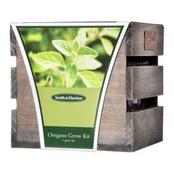 Smith & Hawken Herb Grow Kit, Oregano - Grow herbs inside. They'll be great to cook with, and as an added bonus, the plants will look and smell terrific.